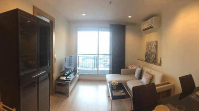 For SaleCondoRatchadapisek, Huaikwang, Suttisan : Sale with Tenant fl.22 45.79sqm Facing South City view ( Sukhumvit )