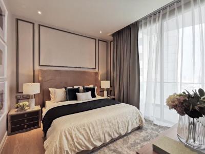 เช่าคอนโดวงเวียนใหญ่ เจริญนคร : เช่าด่วน +++ Magnolias Waterfront Residences* 2 ห้องนอน 102.ตร.ม. ทิศตะวันออกเฉียงเหนือ ห้องแต่งสวย