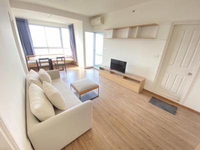 For RentCondoRamkhamhaeng, Hua Mak : Condo for rent at U Delight Hua Mak, 52 sqm, 2 bedrooms, 15th floor, 16,000 baht