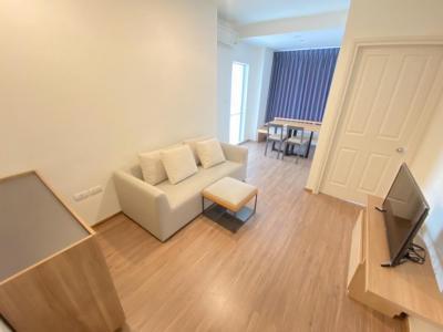 For RentCondoRamkhamhaeng, Hua Mak : For rent, Condo U Delight 40 sqm. Floor 15 12,000 baht 064-9598900