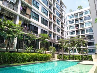 For SaleCondoBangna, Lasalle, Bearing : VILLA LASALLE Villa Lasalle, Sukhumvit 105, cheap condo sale, 2 bedrooms, 2 bathrooms, near BTS Bearing. Condo for sale, Bangna Bearing, Phra Khanong