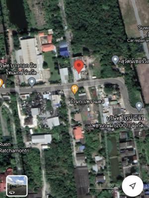 For RentLandBang kae, Phetkasem : ให้️ Rent a plot of land 200 - 260 square wah on Soi Ratchamontri, 600 meters from SISB Thonburi International School ⭐️