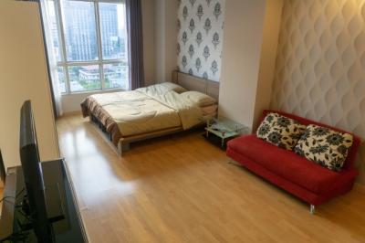For SaleCondoLadprao 48, Chokchai 4, Ladprao 71 : Life@ratchada, Ladprao 36, just 500 m. from MRT Lat Phrao, Studio 35 sqm. Fully furnished