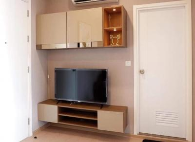For RentCondoSukhumvit, Asoke, Thonglor : For Rent The Tree Sukhumvit 71 - Ekkamai, 1 bed, 30 sqm., High floor, full furnished