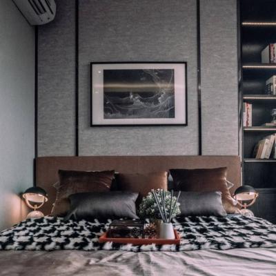 For RentCondoSukhumvit, Asoke, Thonglor : AE0001 The Lumpini 24 condo for rent, corner room, 4th floor, 55 square meters, 2 bedrooms, 2 bathrooms