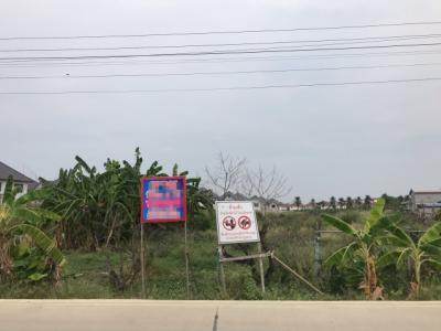 For SaleLandNakhon Pathom, Phutthamonthon, Salaya : Land for sale 8-2-96 Rai, Phutthamonthon 5, Soi 400 m., Next to the public road. 8 m wide concrete road. Suitable for housing estates, warehouses, factories.