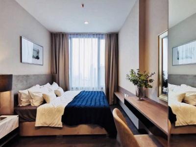 For RentCondoSukhumvit, Asoke, Thonglor : AE0002 Condo for rent at Edge Sukhumvit 23, Floor 33, area 63.5 square meters, 2 bedrooms, 1 bathroom