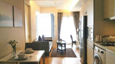 For SaleCondoSukhumvit, Asoke, Thonglor : Urgent Sale, nice room H Sukhumvit 43 near BTS Phrom Phong ** 1 bedroom 41 sq.m. fully furnished