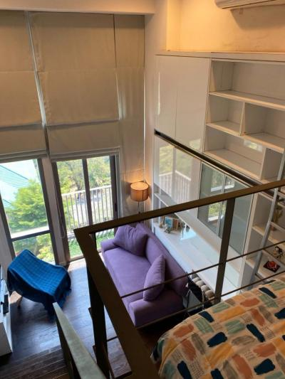 For RentCondoSukhumvit, Asoke, Thonglor : Ashton Morph 38 -Pet Friendly (1 bed Duplex 30 sqm) 25,000 THB
