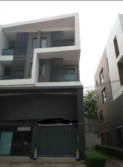 For SaleShophouseNawamin, Ramindra : ขาย อาคารพาณิชย์ 3 ชั้น ครึ่ง โครงการ B-AVENUE วัชรพล สายใหม
