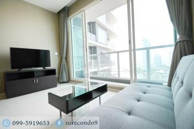 For RentCondoRama3 (Riverside),Satupadit : 😊 For RENT 1 bedroom 🚄near BTS SaphanTaksin 🏢 Menam Residences Project
