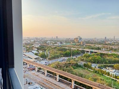 For SaleCondoPattanakan, Srinakarin : For Sale Rich Park @ Triple Station Condo, Rich Park @ Triple Station, 1 bed, 28.6 sqm., Near BTS, very beautiful view