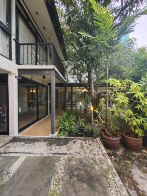 For RentHouseSukhumvit, Asoke, Thonglor : #Seerentsale Single house for rent Sukhumvit 85BTS Phra Khanong 800 meters, light price