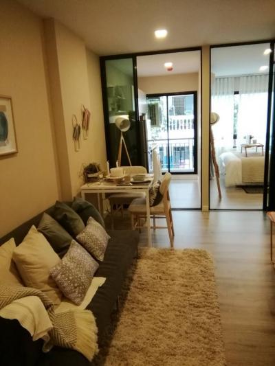 เช่าคอนโดบางนา แบริ่ง : Condo for rent/คอนโดให้เช่า Pause สุขุมวิท 103 BTS อุดมสุข แบบ 1 ห้องนอน 10,000/เดือน