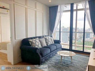 For RentCondoSukhumvit, Asoke, Thonglor : 0207😊 For RENT 2 bedroom 🚄near BTS Phrom Phong, only 7 minutes ( 800 m. ) 🏢 Park 24 Project