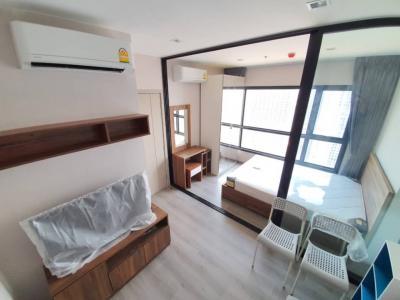 For RentCondoRattanathibet, Sanambinna : 37th floor politan rive condo for rent, 25sqm, complete with river view