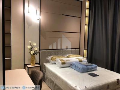 For RentCondoSilom, Saladaeng, Bangrak : 😊😍 For RENT & SELL  1 bedroom 🚄near BTS Chong Nonsi, only 2 minutes ( 350 m. ) 🏢 Ashton Silom Project