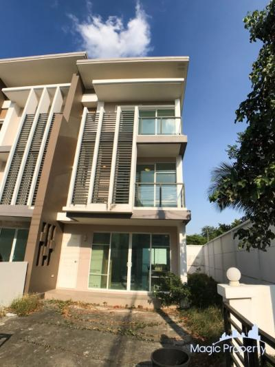 For SaleTownhouseKasetsart, Ratchayothin : 3-storey townhouse for sale, 3 bedrooms, fully furnished. Built-in kitchenware, Town Avenue Project 60, Soi Vibhavadi Rangsit 60, Talat Bang Khen Subdistrict, Laksi District, Bangkok
