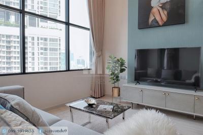 For RentCondoSathorn, Narathiwat : 😊 For RENT 1 bedroom 🚄near BTS Chong Nonsi just 3 minutes (850 m.) 🏢 Knightsbridge Prime Sathorn Project