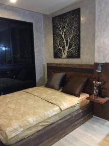 เช่าคอนโดรัชดา ห้วยขวาง : For Rent 租赁式公寓 Quin condo  (1bed )34sq.m. 17,000 THB Tel. 065-9899065