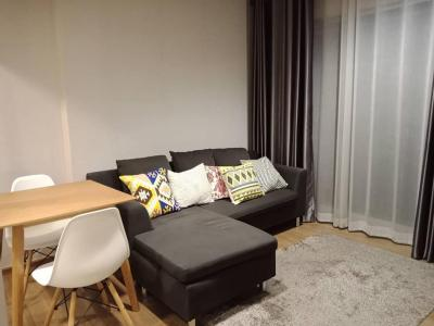 For RentCondoSathorn, Narathiwat : For rent, Condo FUSE Chan Sathon. Large room, 37 sqm. Beautiful view and fully furnished.