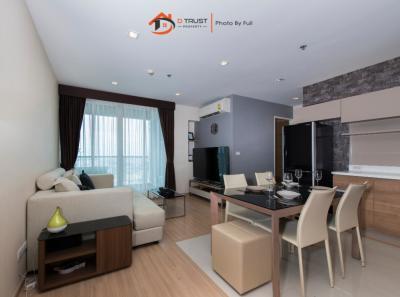 For SaleCondoSapankwai,Jatujak : Rhythm Phahon-Ari, 43 floor, 66 sqm., 2 bedrooms, 180 degree city view, fully furnished.