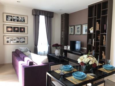 For RentCondoRama9, RCA, Petchaburi : THE CAPITAL EKAMAI & THONGLOR (3 beds 180 Sqm) 85,000 THB Privated Garden