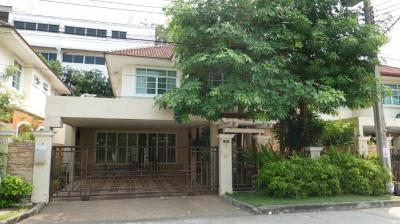 For SaleHouseSukhumvit, Asoke, Thonglor : House for sale : Imperial Park, Sukhumvit 101/1 , 4 bedrooms with extension area for living room and kitchen