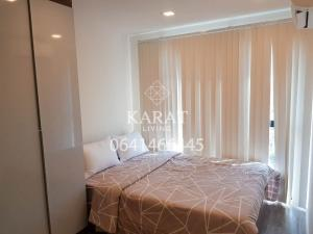 For RentCondoRatchadapisek, Huaikwang, Suttisan : Modiz Ratchada 32 for rent 24 sq.m 10,000 THB FL.8 nice city view No block view K.Bee 064146-6445 (R5633)