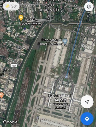 ขายที่ดินลาดกระบัง สุวรรณภูมิ : ขายที่ดินราคาถูก 187 ตร.ว ใกล้สนามบินสุวรรณภูมิ เจ้าของขายเอง