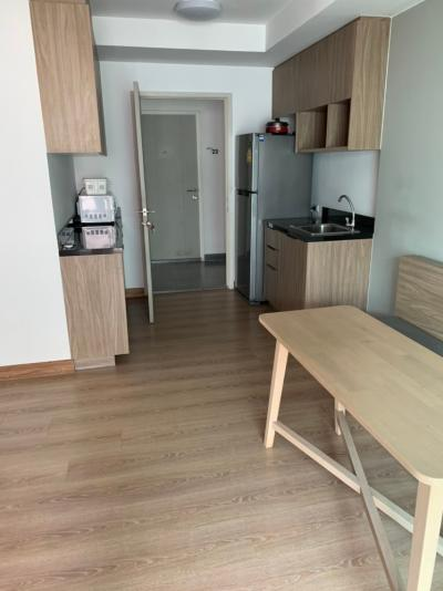 For RentCondoKasetsart, Ratchayothin : Condo for rent, Chapter One the campus kaset for kids, Kaset University, 2nd floor, beautiful view, nice wind