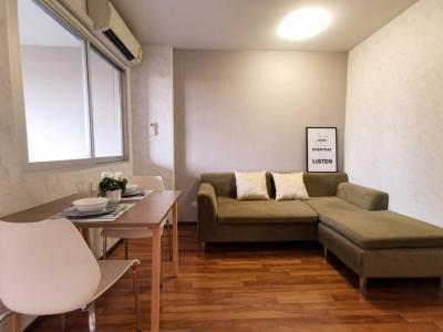 For RentCondoRamkhamhaeng, Hua Mak : For Rent Condo U @ Hua Mak 31 sqm. Floor 4, Building B 9,000 Baht 064-9598900