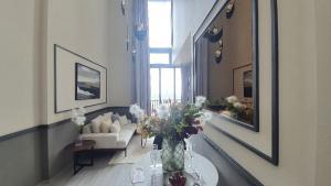 For SaleCondoOnnut, Udomsuk : 🔥 HOT The Line 101, high floor corner room, river view 4.5 MB 🔥