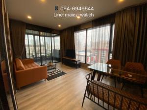 For RentCondoRama9, RCA, Petchaburi : For Rent‼️ 2 beds 1 bath at Ideo Mobi Asoke near MRT Phetchaburi, Ready to move in Now! Contact 0946949544