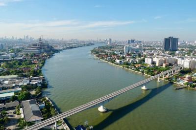 For RentCondoBang Sue, Wong Sawang : Rent cheap 333 Riverside 1 bedroom 1 bathroom River view
