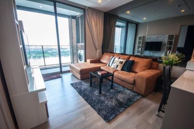 For RentCondoBang Sue, Wong Sawang : Condo for rent 333 Riverside beautiful Chao Phraya River view, 1 bedroom
