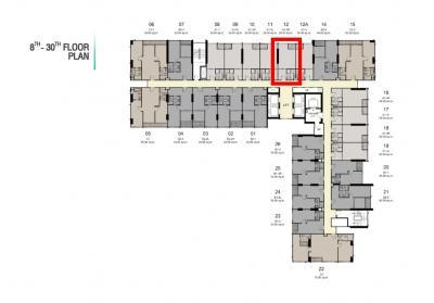 ขายดาวน์คอนโดอ่อนนุช อุดมสุข : Ideo พระราม 4 ห้อง Promotion 3.59 ล้าน ทิศเหนือ ชั้น 11 วิวที่ขายดีที่สุดของโครงการ