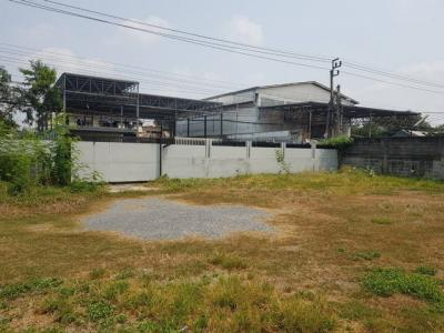 For RentLandOnnut, Udomsuk : BB402 Land for rent in size 100 W, Soi Onnut 64, walking distance from the main road Srinakarin Srinakarin Soi 31