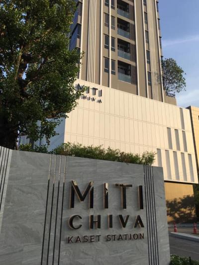 For SaleCondoKasetsart, Ratchayothin : ** For sale Miti Chiva Kaset Station condo, MITI CHIVA KASET STATION **
