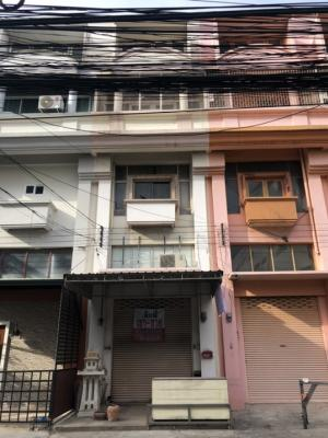 For SaleShophouseBang Sue, Wong Sawang : Quick sale price adjustment, good location, 4 and a half storey commercial building for sale, Soi Sawai Suwan, 19.1 square meters, can not find any more, this price 0952896562