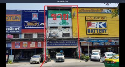 For SaleShophouseBangna, Lasalle, Bearing : Commercial building for sale, King Kaew Road, Bang Phli, Samut Prakan