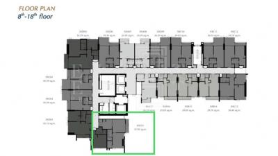 For SaleCondoKasetsart, Ratchayothin : For Sale Centric Ratchayothin (37.95 sqm.)