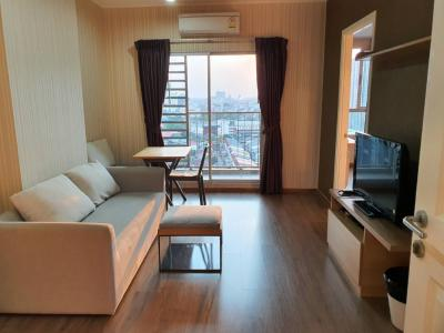 For RentCondoBang Sue, Wong Sawang : Condo For Rent: U Delight @ Bangson Station‎ Ready to move in, 17 Floor, Corner Room, 42 Sq.M.