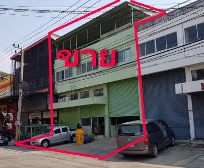 For SaleWarehouseBangna, Lasalle, Bearing : Office for sale with mini factory warehouse, Soi King Kaew 54, Bang Phli, Samut Prakan, warehouse near Suvarnabhumi Airport