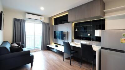 For RentCondoKasetsart, Ratchayothin : (Owner released by herself) For rent The Selected Kaset, beautiful room, big room, 32 sqm.