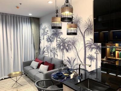 เช่าคอนโดพระราม 9 เพชรบุรีตัดใหม่ : The line asoke ratchadaFully furnished  with luxurious build and decorations
