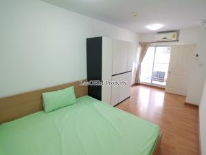 For RentCondoRattanathibet, Sanambinna : Condo for rent City Home Rattanathibet 2 bedrooms 1 bathroom Corner room ready to move in * With washing machine *