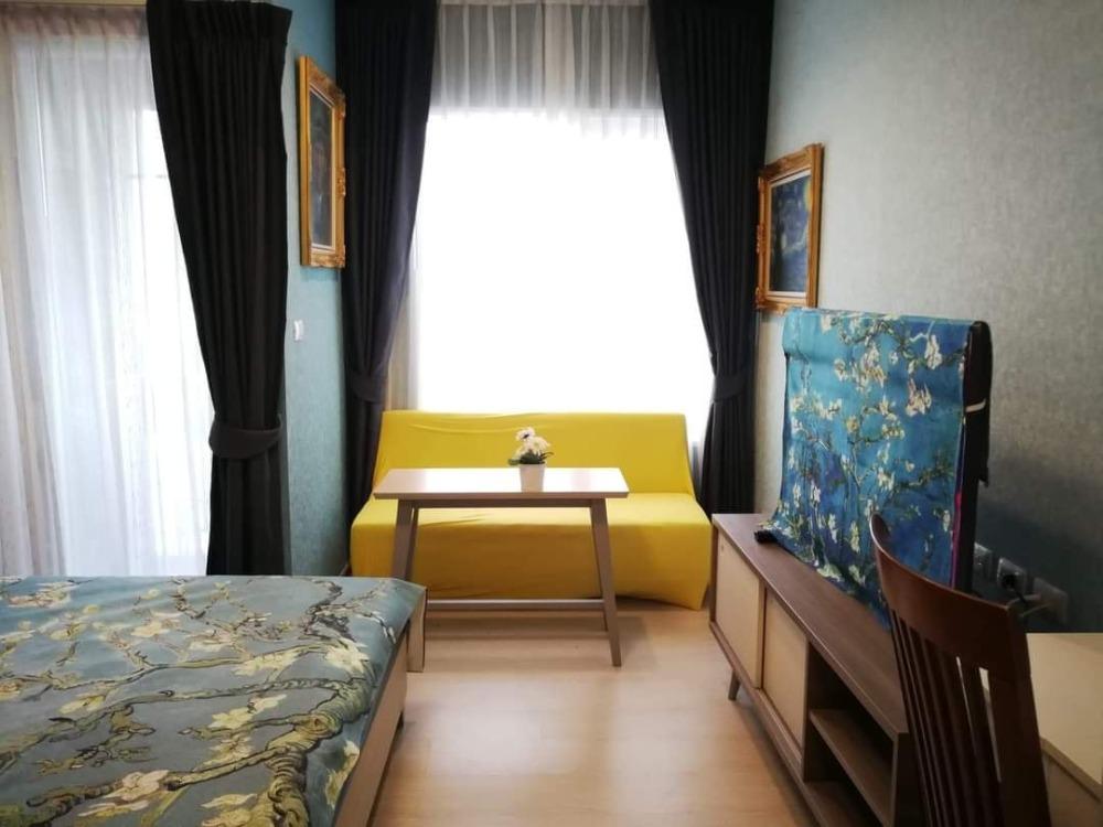 For RentCondoRatchadapisek, Huaikwang, Suttisan : Chapter One Eco Ratchada-Huai Khwang condo for rent Ready to move in [For rent Chapter One Eco Ratchada-Huaykwang] - Studio 1 bathroom