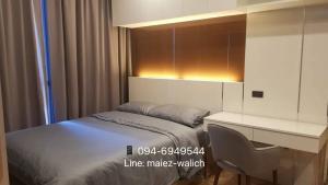 For SaleCondoSiam Paragon ,Chulalongkorn,Samyan : Beautiful room for sale‼ Studio good price Fully furnished at ASHTON CHULA, near MRT Samyan, Chula University, Triam Udom School, contact 0946949544