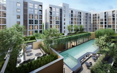 Sale DownCondoOnnut, Udomsuk : Down payment for sale at The Nest Sukhumvit 71, the nest sukhumvit 71, near BTS Phra Khanong and expressway